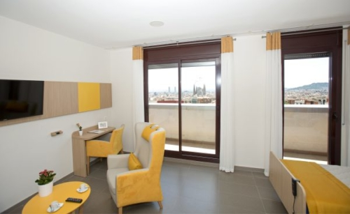 Residencia de ancianos en Guinardó (Barcelona)