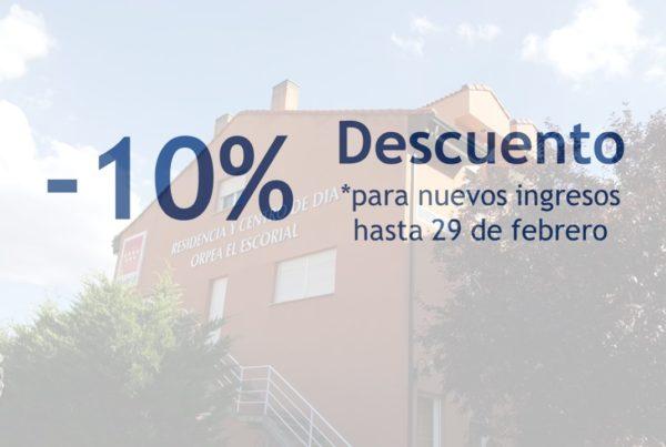 ORPEA El Escorial descuento 10%