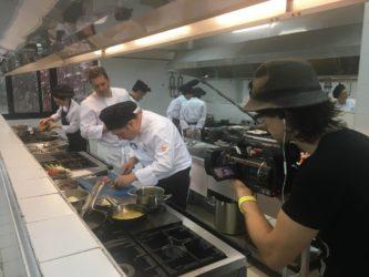 Los mejores jefes de cocina de las residencias Orpea de toda España reunidos en el primer concurso de cocina nacional de la marca.