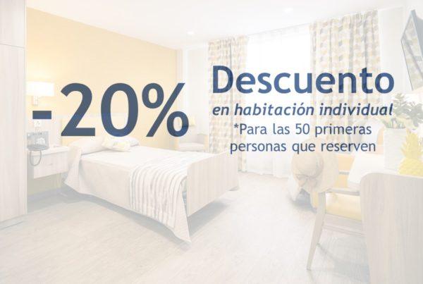 ORPEA Leon Descuento 20% en precio habitación individual