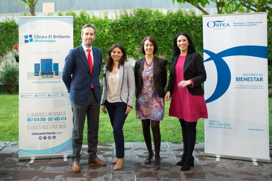 Orpea Ibérica y Clínica El Brillante Oftalmología cierran un acuerdo de colaboración