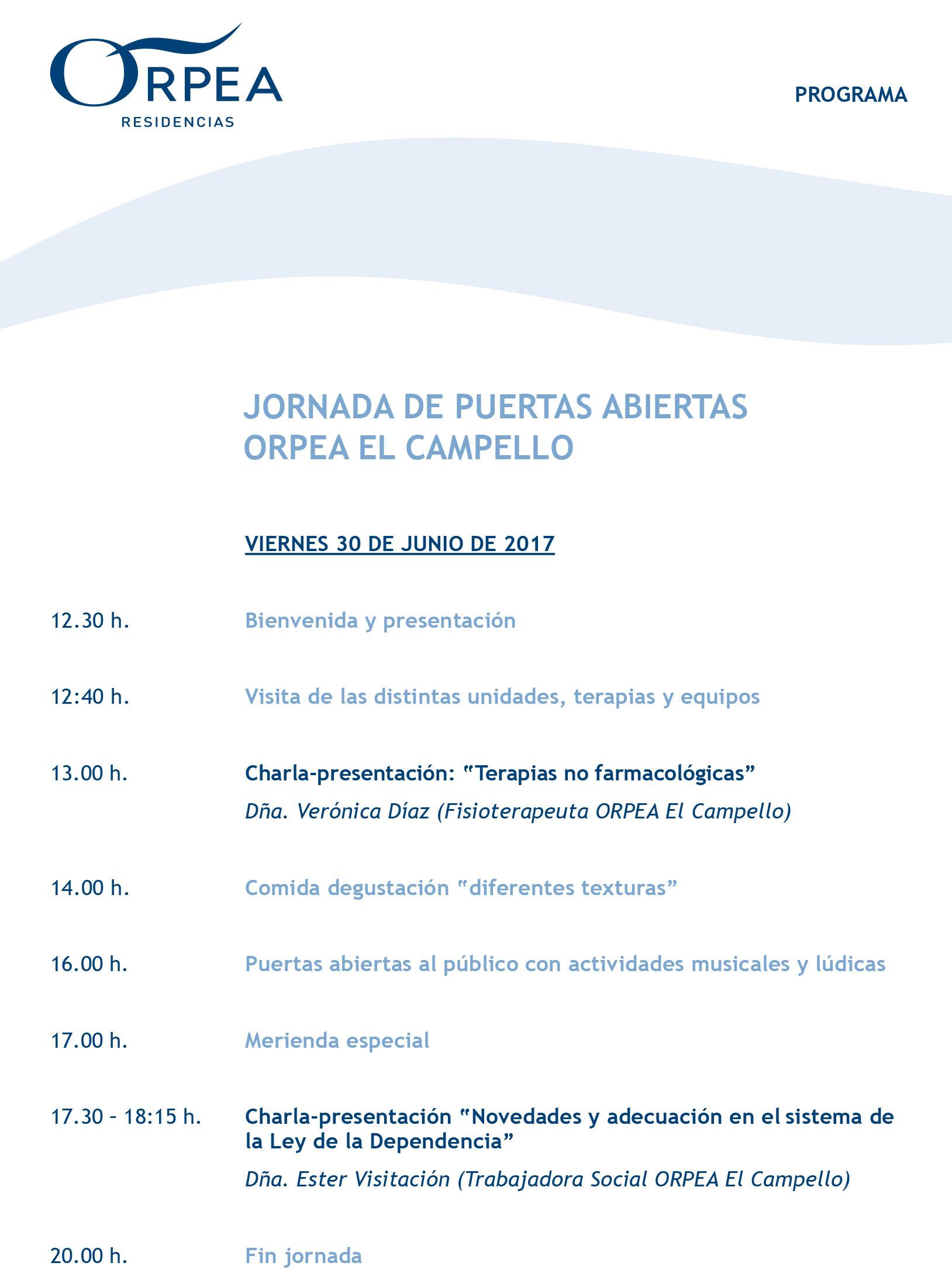 Orpea El Campello, abre sus puertas para mostrar las mejores prácticas en atención sociosanitaria