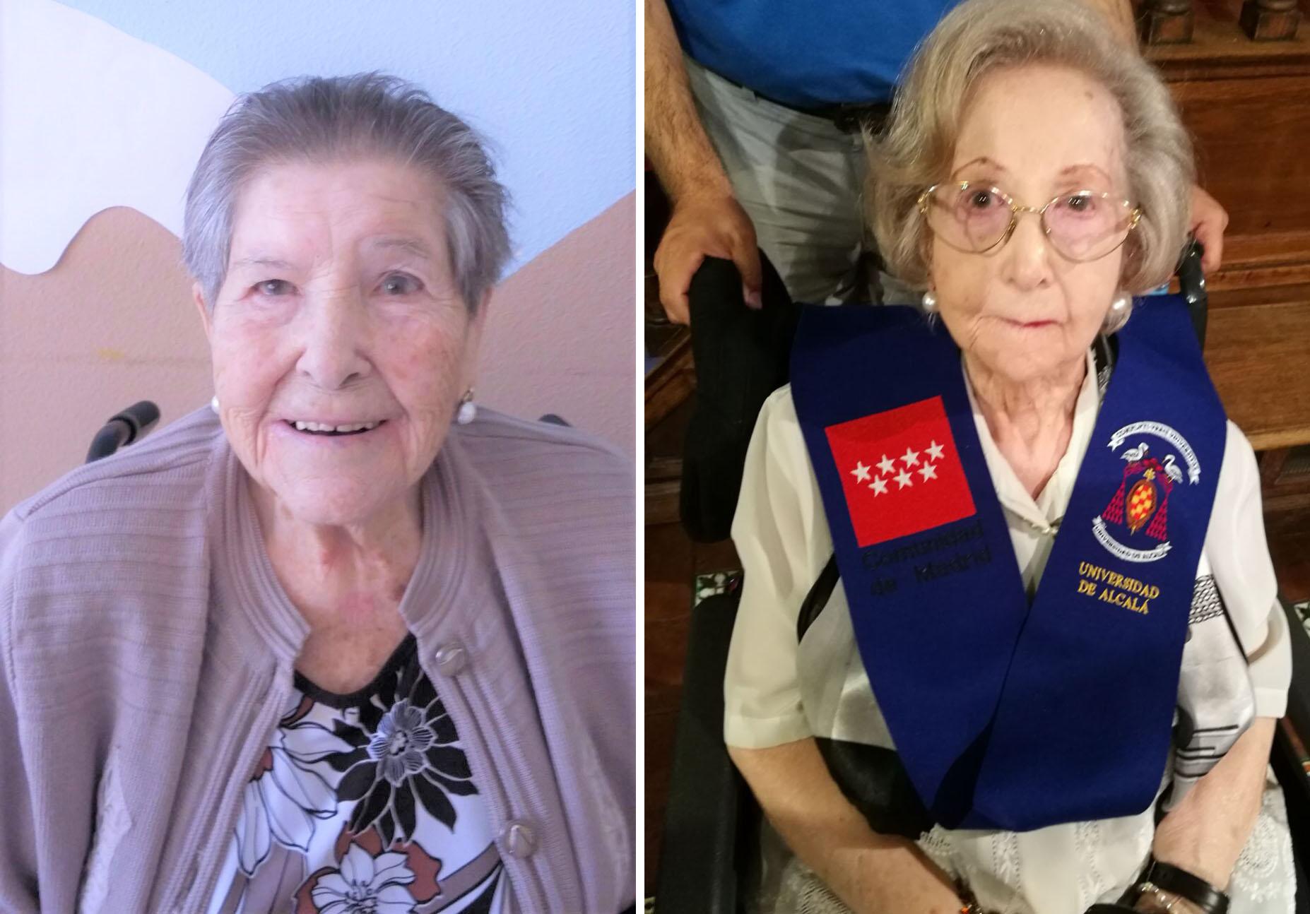 La Comunidad de Madrid homenajea a dos residentes de Orpea Ibérica
