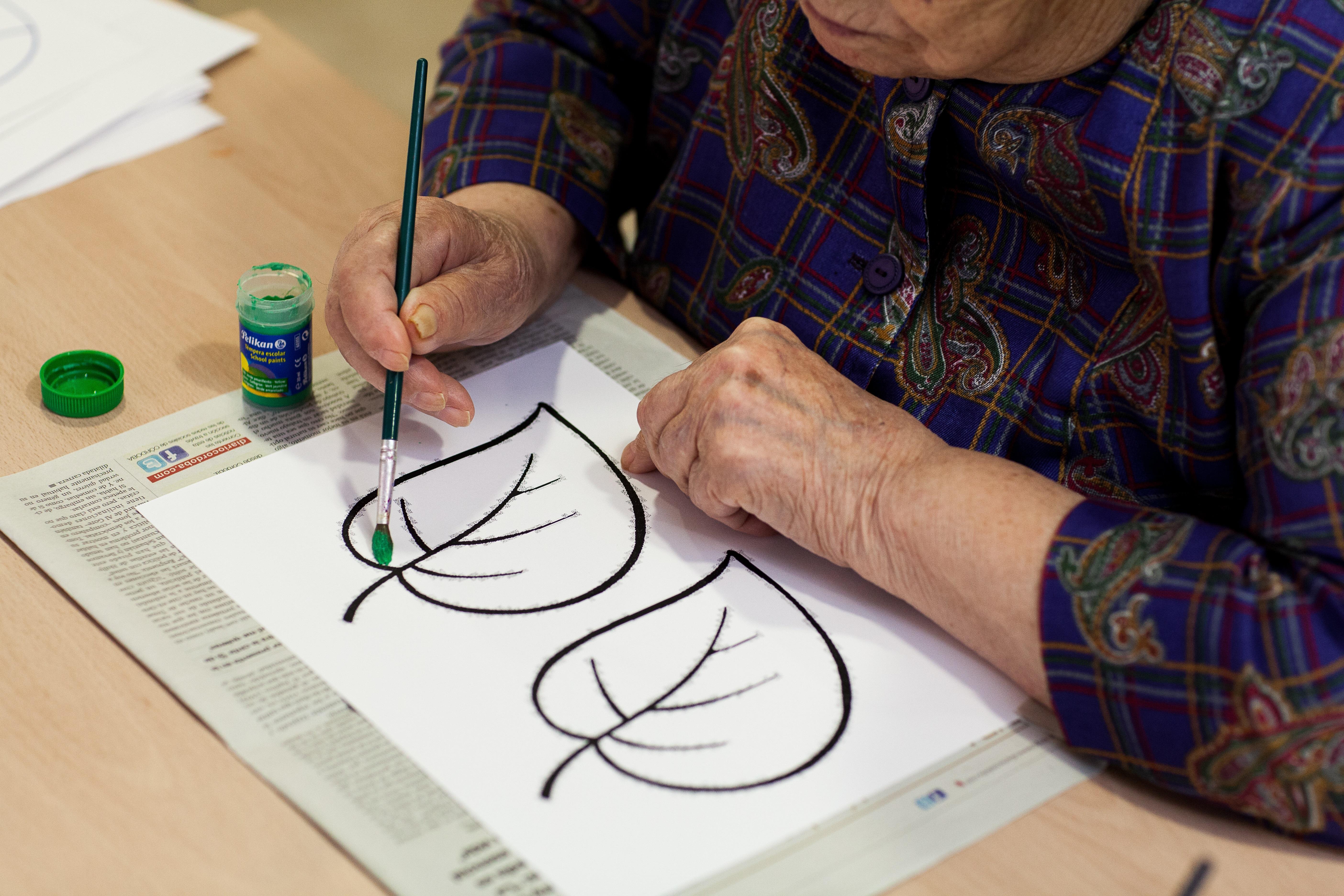 Arteterapia para personas mayores