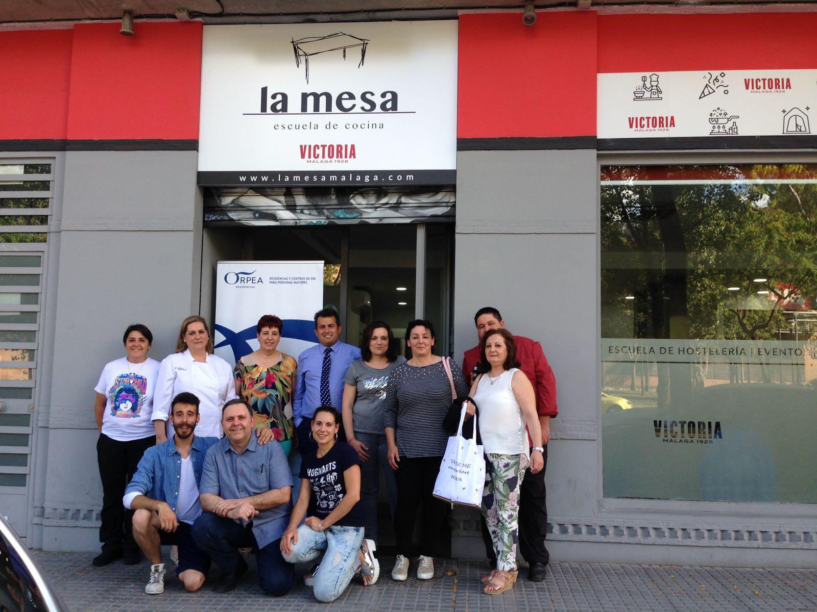 ORPEA organiza un curso de cocina tradicional andaluza para sus profesionales de la región sur