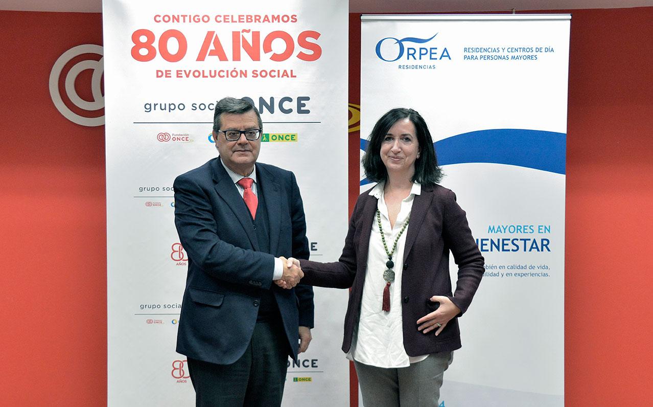 ORPEA se adhiere al Programa INSERTA de la Fundación ONCE para impulsar la inserción laboral de personas con discapacidad