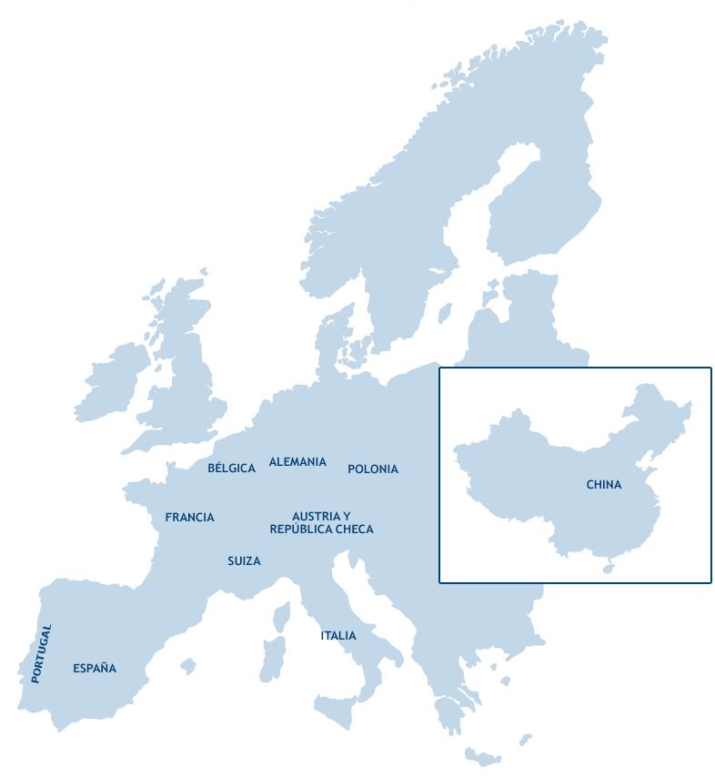 Presencia Orpea en países