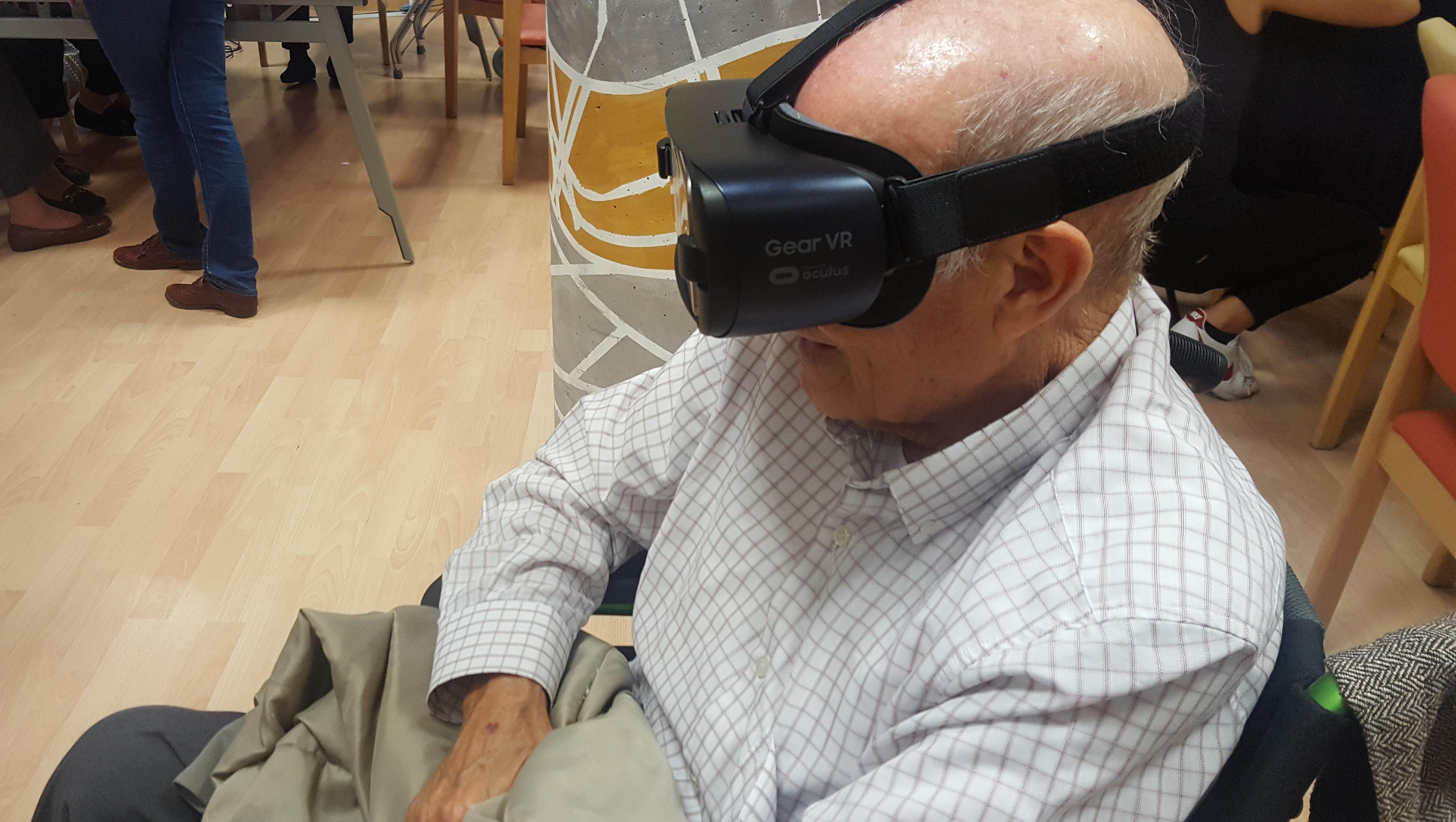 La realidad virtual mejora la atención y el estado de ánimo de los mayores