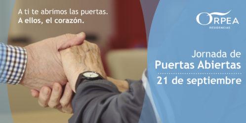 ORPEA organiza una jornada de puertas abiertas conjunta en todos sus centros de España