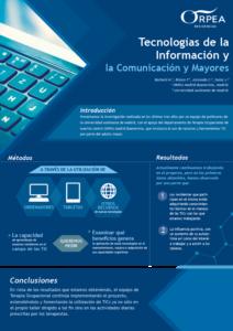 Cartel Tecnologías de la Información ORPEA Madrid Villanueva de la Cañada