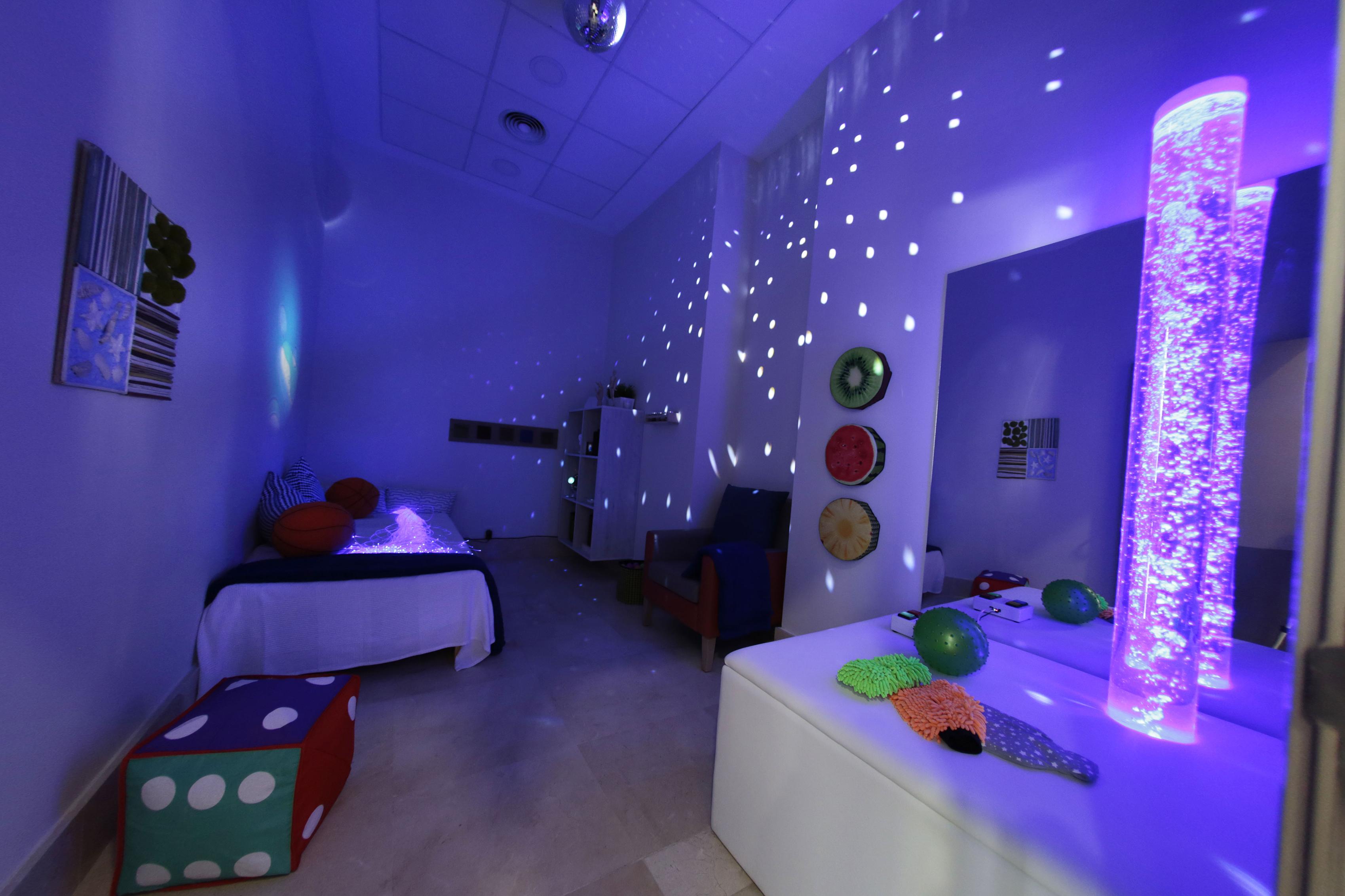 Sala de multisensorial Snowzelen
