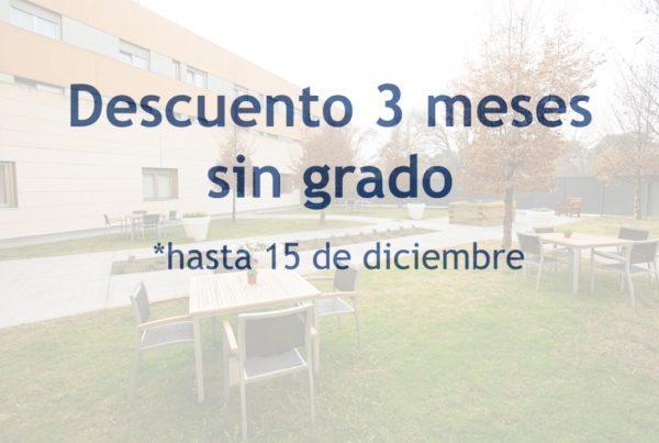 Descuento 3 meses sin grado ORPEA Santo Domingo 15 diciembre
