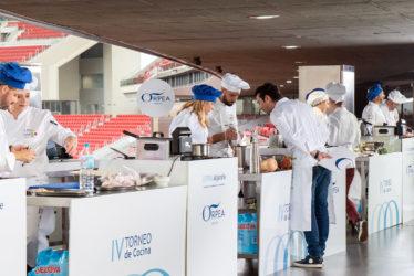 ORPEA Córdoba Sierra gana en el Wanda la cuarta edición del Torneo de Cocina