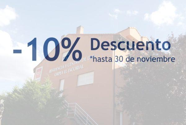 ORPEA El Escorial descuento 30 noviembre