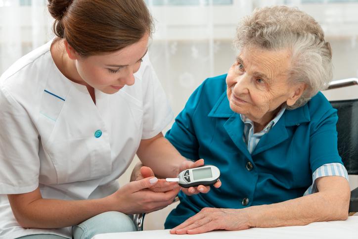 Diabetes en las personas mayores