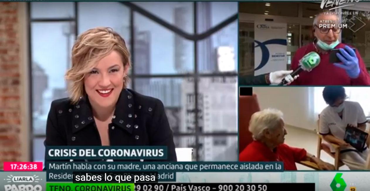 Liarla Pardo se hace eco de la iniciativa de ORPEA