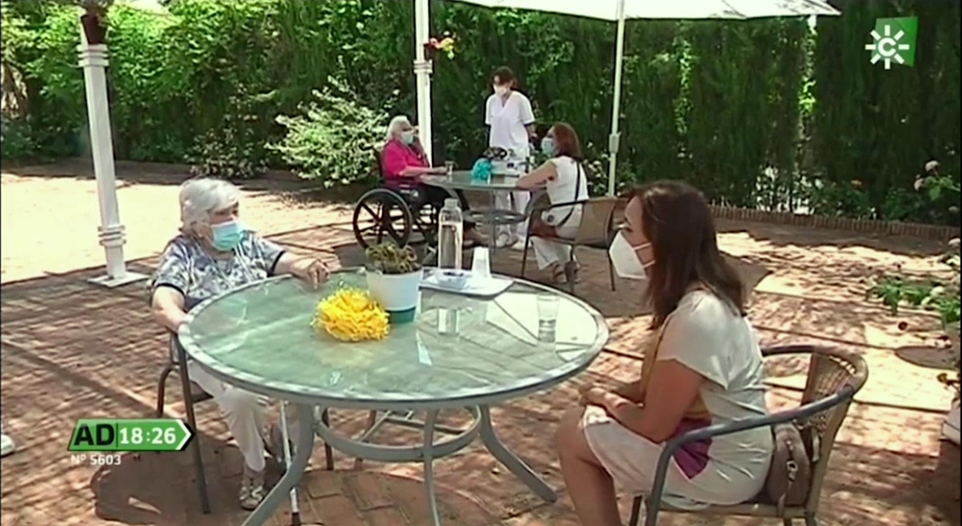 Se reinician gradualmente las visitas en las residencias ORPEA