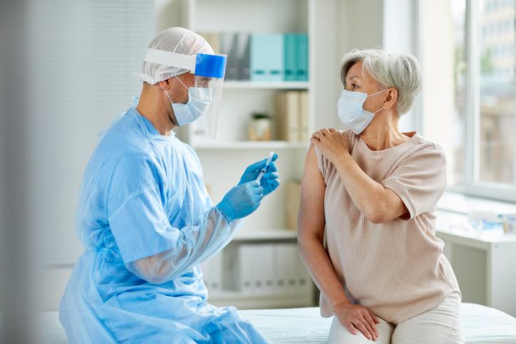 Las residencias ORPEA inician la vacunación de sus residentes frente a la gripe