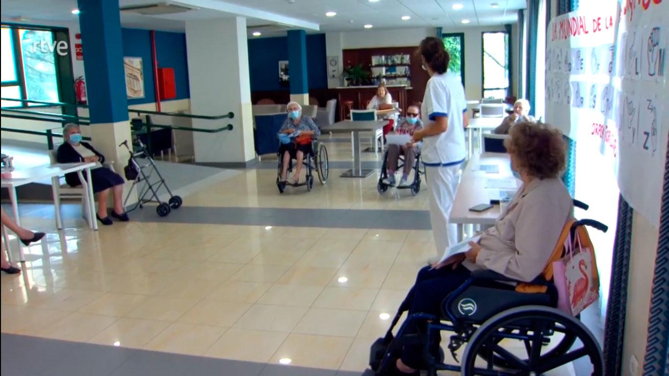 ORPEA muestra en  el programa Comando Actualidad de TVE cómo es el cuidado que  ofrecen en sus centros a las personas mayores