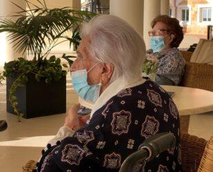 Fina y Carmen, residentes centenarias de ORPEA Málaga, ejemplos de superación en tiempos de pandemia