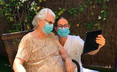 Las familias satisfechas con la comunicación que las residencias ORPEA han ofrecido durante la pandemia