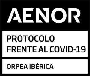 ORPEA IBÉRCA CERTIFICADO AENOR COVID 19