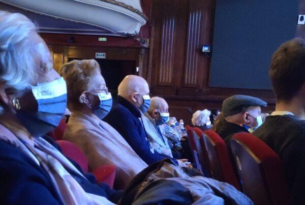 Residentes de ORPEA salen al Teatro EDP Gran Vía en Madrid