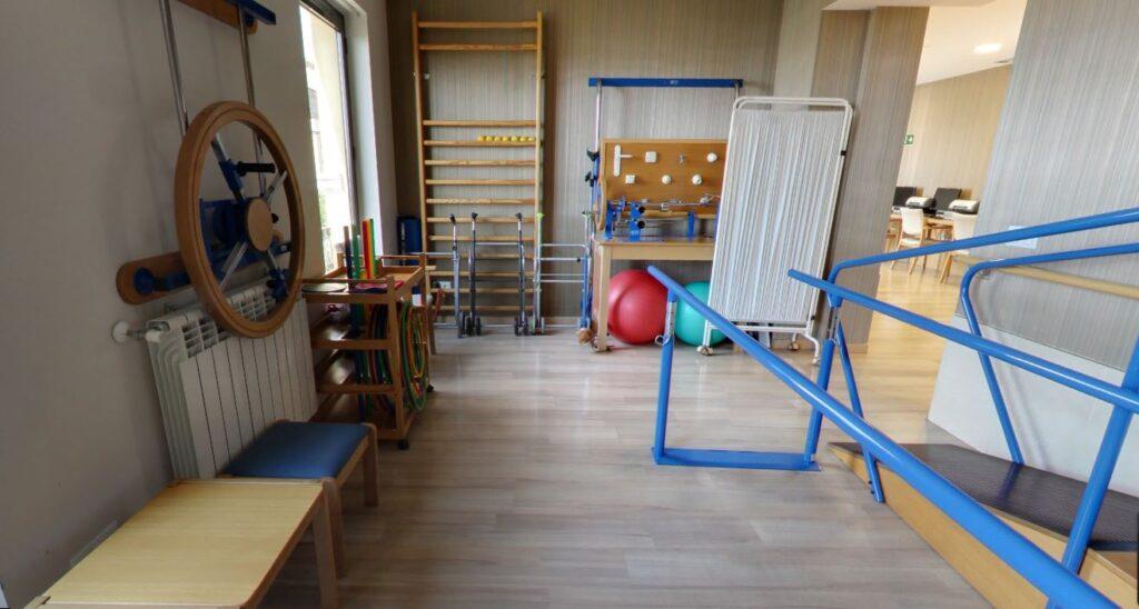 residencia mayores Ferraz gimnasio