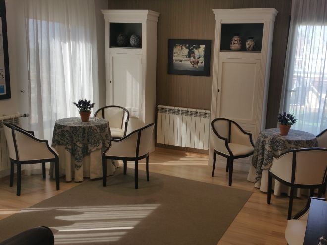 residencia mayores Ferraz salon