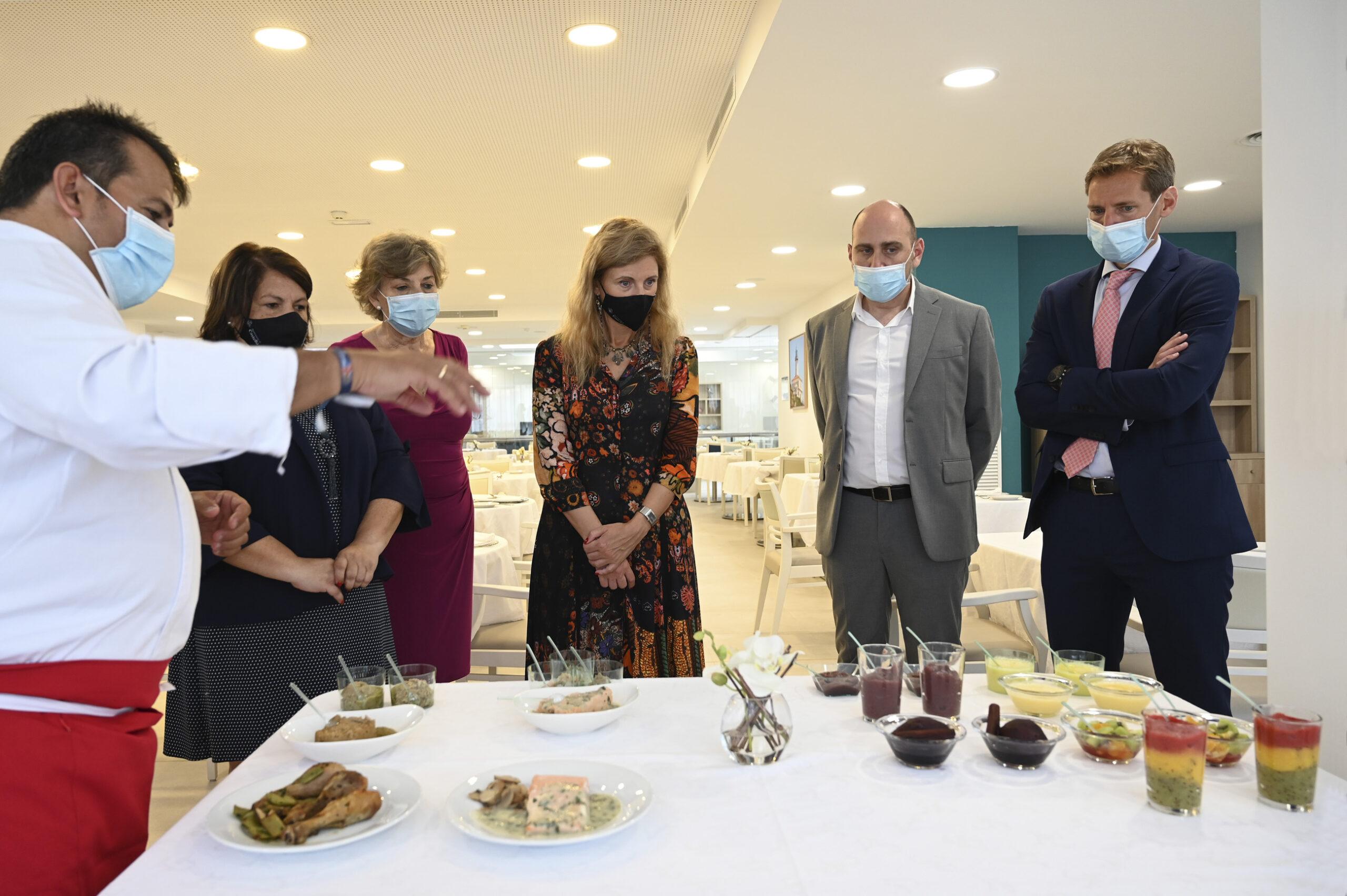 La alcaldesa de Castelló de la Plana, Amparo Marco, inaugura la nueva residencia de ORPEA